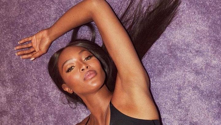 Así es la supermodelo inglesa Naomi Campbell