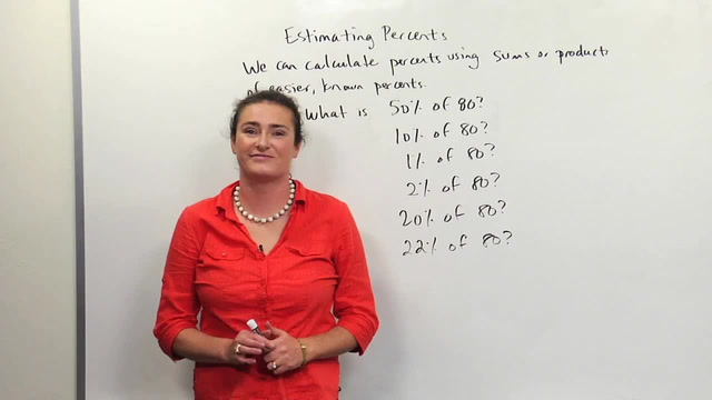 Estimating Percents