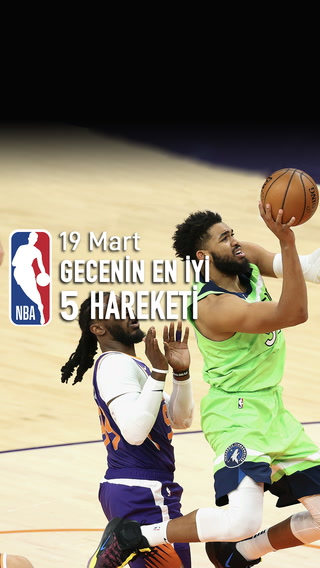 NBA'de gecenin en iyi 5 hareketi