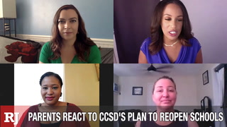 Parents react to CCSD's plan to reopen schools – Video