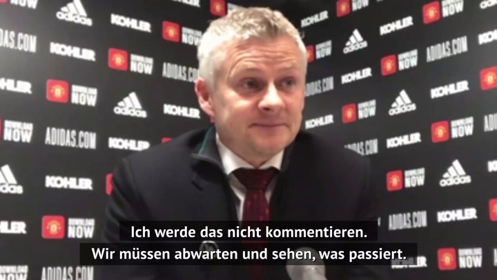 Solskjaer und Co.: Trainer-Reaktionen zur Super League