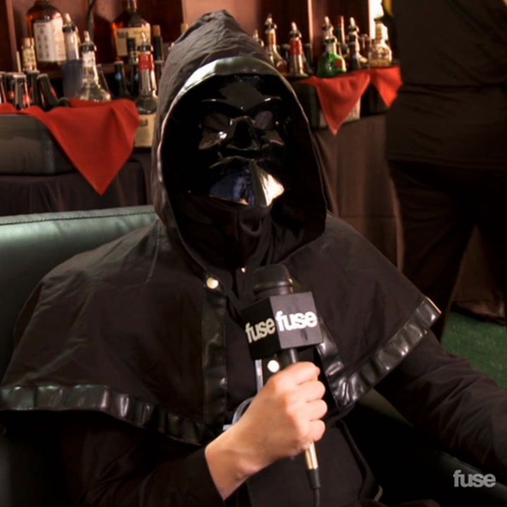 Ghost on Anonymity and Disco Bus Parties at Rock on the Range 2013
