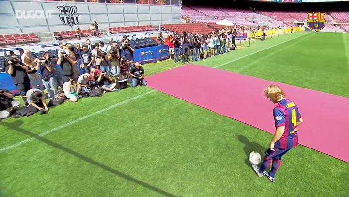 Ivan Rakitić's six years at FC Barcelona