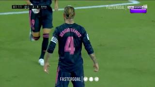 Sergio Ramos anotó a lo