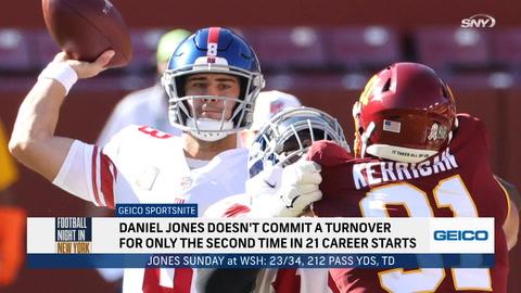 FNNY: Daniel Jones showed signs of growth in Week 9 win over Washington