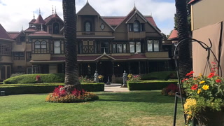 Touring the Winchester mystery mansion on 200mg