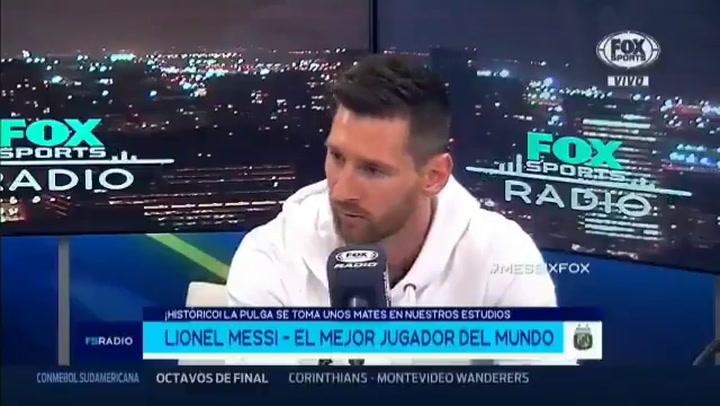 """Messi dijo esto sobre Sabella: """"La época que más disfruté en la Selección Argentina fue con Alejandro"""