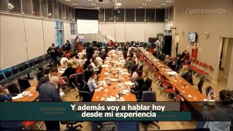Majo Gerez invitó a los diputados a reflexionar sobre el aborto