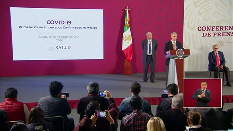 México registra su primer caso de coronavirus