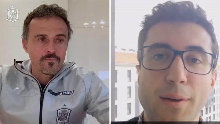 Segunda parte de 'La afición de España pregunta, Luis Enrique responde'