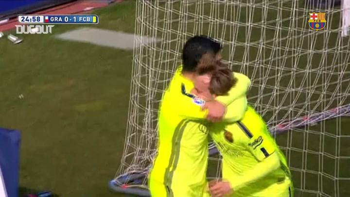 Ivan Rakitic sets Barcelona on their way to Granada win