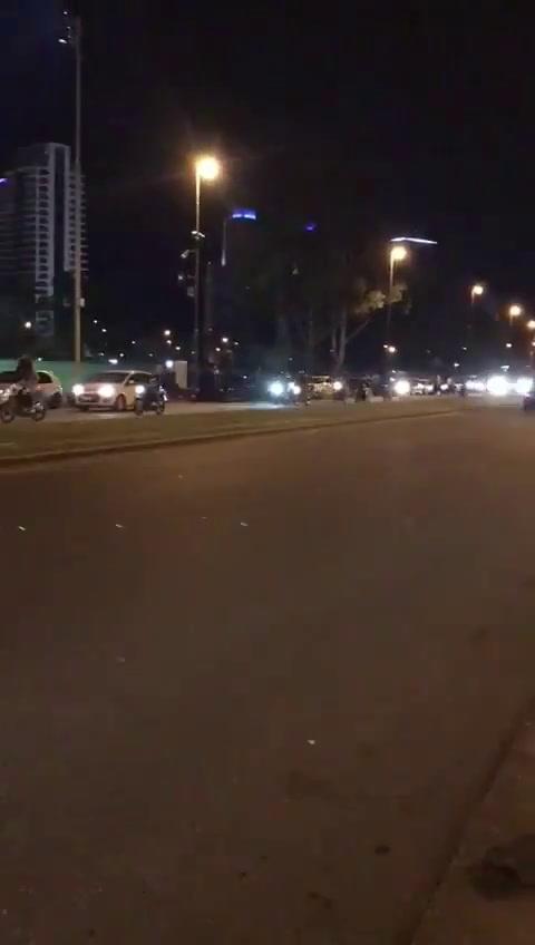 En medio del paro, las picadas de motos volvieron al parque Scalabrini Ortiz