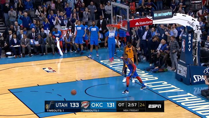 Las 10 mejores jugadas de la jornada de la NBA el 23 de febrero de 2019