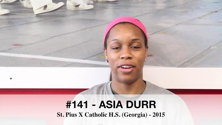 Asia Durr 3x3 U18