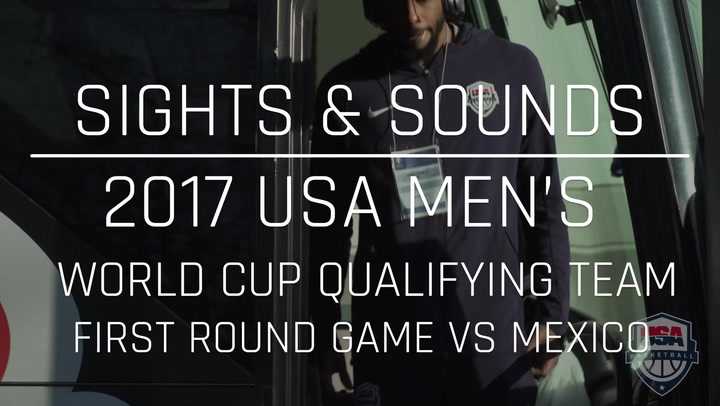 Sights And Sounds: Men's 2017 World Cup Qualifying First Round Game Vs Mexico