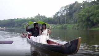 Skulle bare kysse i båten