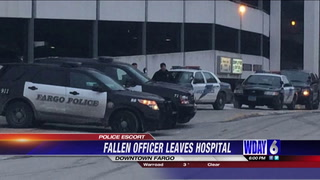 Fallen Officer Jason Moszer's body moved from Sanford Hospital