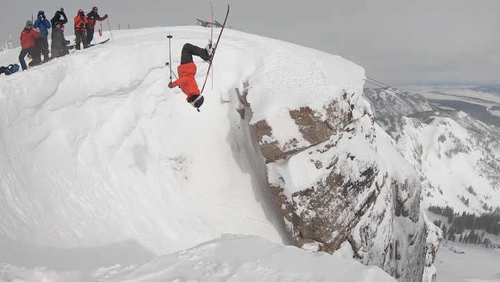 There aren't many firsts left in Jackson Hole. Veronica pulled a big one off.