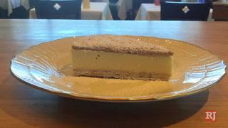 Lemon Semifreddo Dessert at Vetri Cucina in Las Vegas