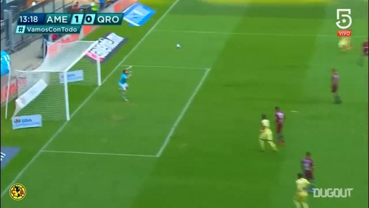 Renato Ibarra's unstoppable strike vs Querétaro