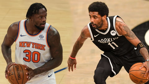 Over/Unders for Knicks' Julius Randle and Nets' Big 3 in Game 2 | What Are The Odds?