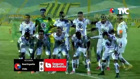 Real España 0-0 Vida (Liga Salvavida)