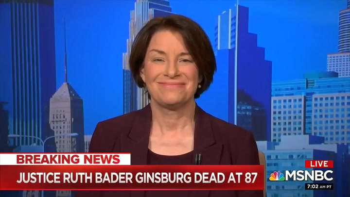 Klobuchar: GOP 'Stole' SCOTUS Seat 'The Last Time, and Now They're Trying to Do It Again'