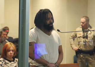 Bail set at $300K for suspect in Las Vegas credit union shooting