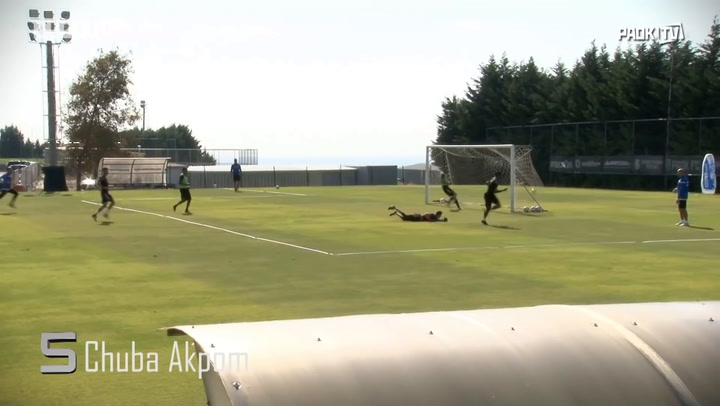 PAOK FC's Top 5 Training Goals Of The Week