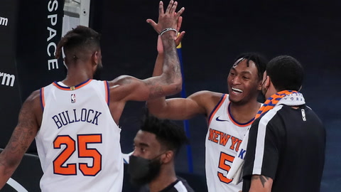 Streaking Knicks showing their NBA playoff potential with eighth straight win | SportsNite