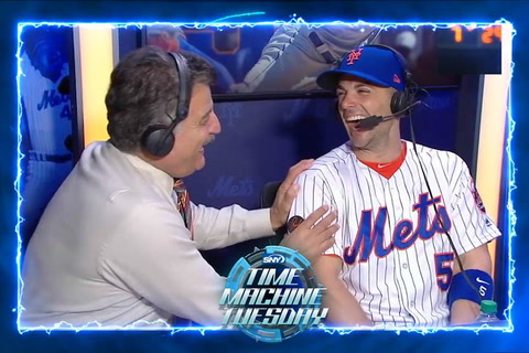 2018: David Wright says goodbye from the SNY booth