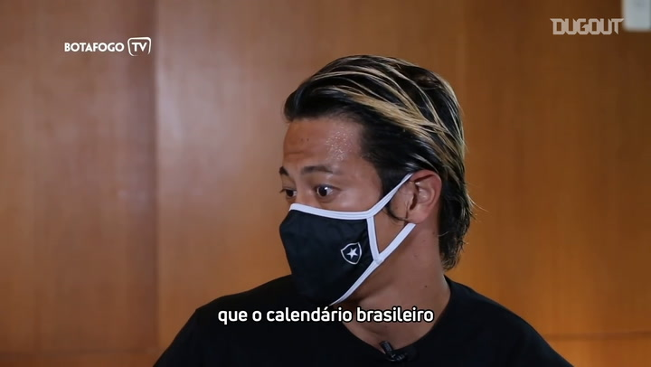Keisuke Honda still learning about Brazilian football