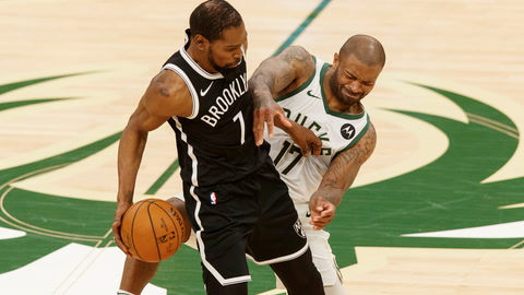 With Kyrie Irving and James Harden hurt, how will the Nets series with the Bucks play out? | SportsNite