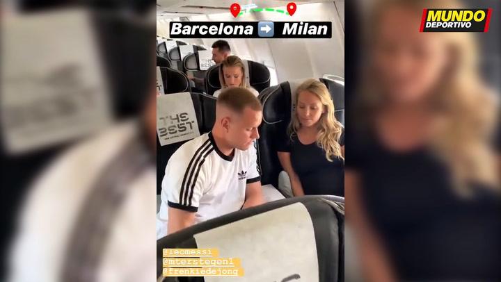 La expedición del Barça ya viaja a Milán para el The Best