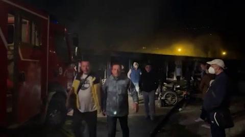 Una decena de muertos en incendio en hospital para covid-19 en Macedonia del Norte