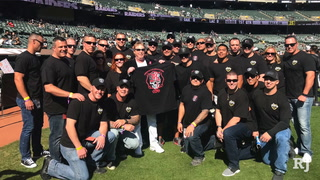 Las Vegas shooting first responders get VIP treatment at Raiders game