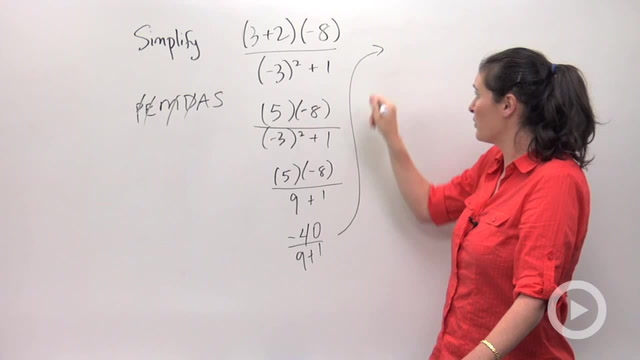 Order of Operations - Problem 2