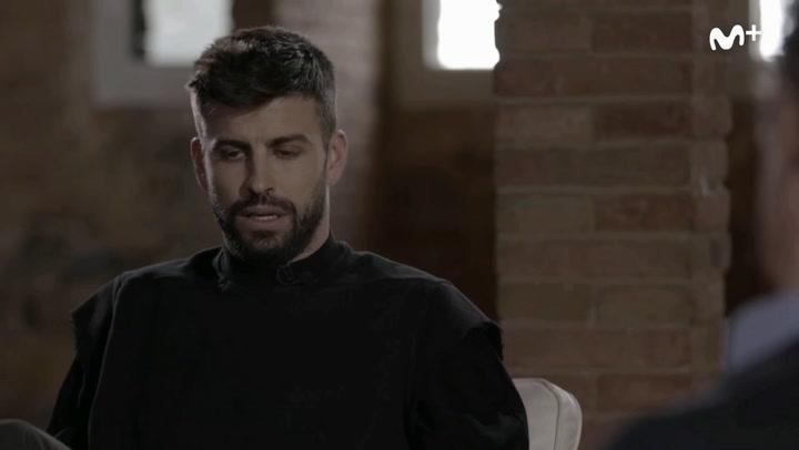 El actual momento del Barça, según Gerard Piqué
