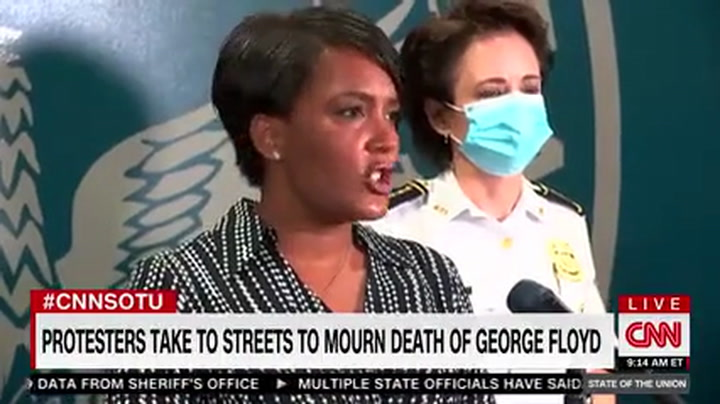 Atlanta Mayor to Trump: 'Just Stop Talking'--'He Speaks and He Makes It Worse'