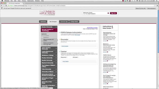 How to Complete the Common Application - How to submit