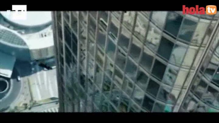 Tom Cruise, de \'Misión Imposible\' en la Gran Vía madrileña