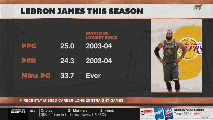 ESPN's Kellerman: We Are Seeing the 'Decline' of LeBron James
