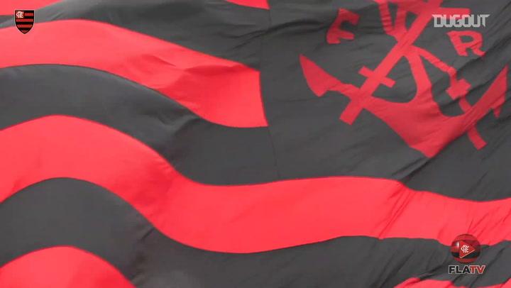 Flamengo train under Jorge Jesus' supervision