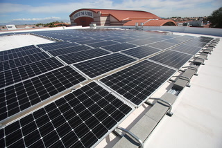 Solar panels reduce energy bill for CCSD