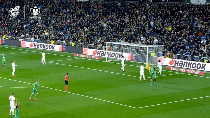 Copa del Rey: Real Madrid-Real Sociedad. Gol de Isak (0-3)