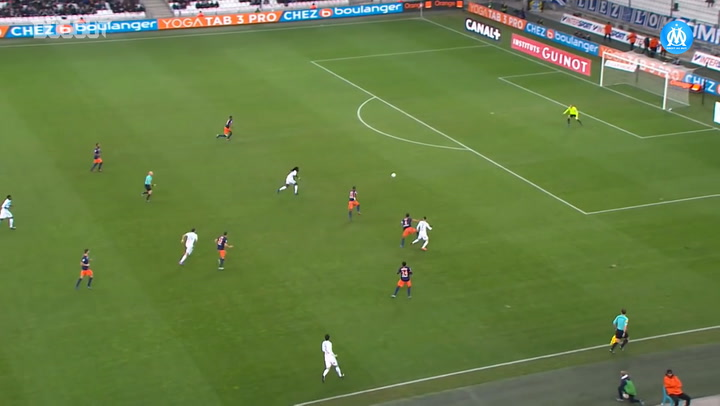 Bafétimbi Gomis' treble in 5-1 Montpellier Win