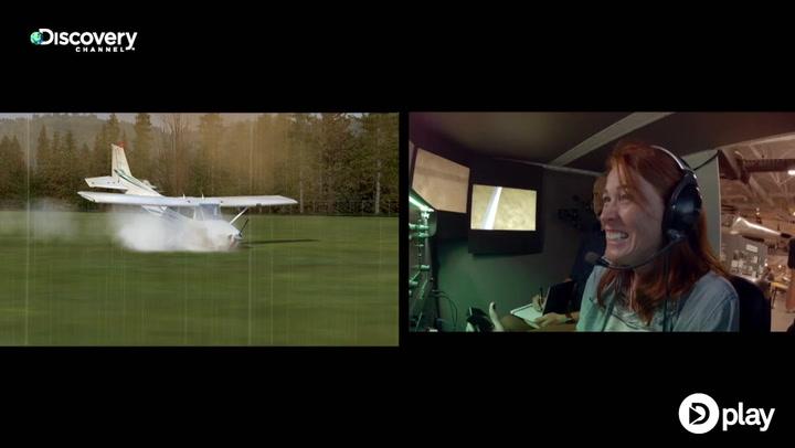 Mythbusters tester: Kan man lande et passagerfly uden pilottræning?