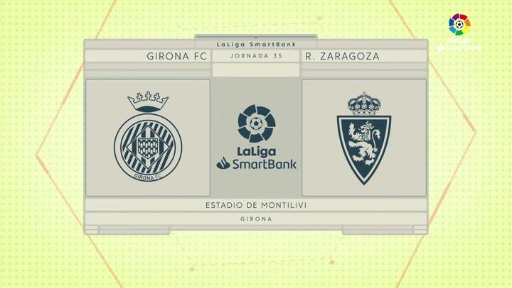 LaLiga SmartBank (J35): Resumen y goles del Girona 3-0 Zaragoza