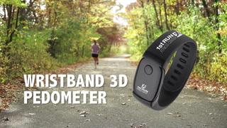 Wristband 3D Pedometer