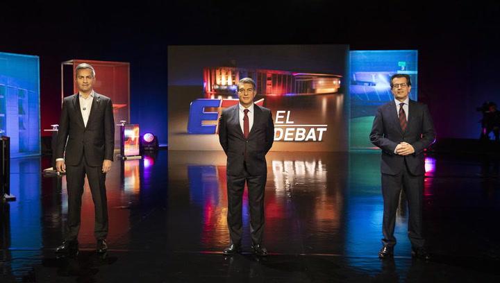 Lo mejor del último debate de los 3 candidatos a la presidencia del Barça